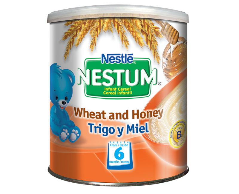 NESTUM BIFIDUS BL Infant Cereal Stage 2 (From 6 months) Wheat and Honey 730g Canister