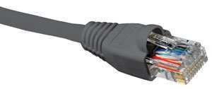Nexxt Patch Cord Cat5e 10Ft. GR