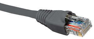 Nexxt Patch Cord Cat5e 14 Feet Gray