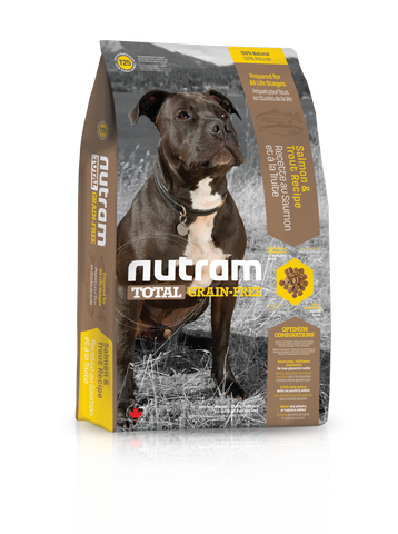T25 Nutram Total Grain-Free Salmon and Trout Recipe Natural Dog Food 13.6kg