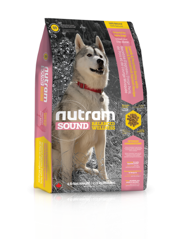 S9 Nutram Sound Balanced Wellness 2.72kg Adult Lamb Natural Dog Food