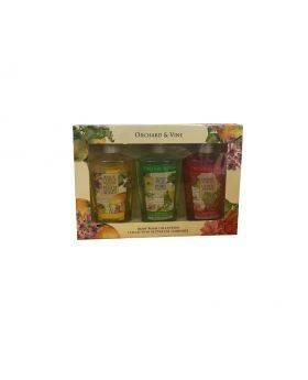 Orchard & Vines body wash gift set