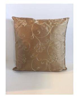 Paris Latte Cushion Cover - Taupe Pattern