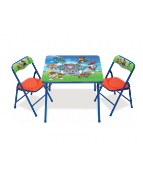 Paw Patrol Activity Table Sets – Folding Table & Chair Set