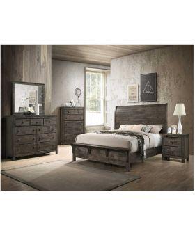 Peter Queen Size 6 Piece Bedroom Set