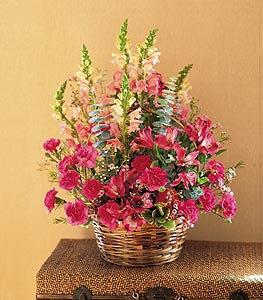 Pink Power Floral Arrangement