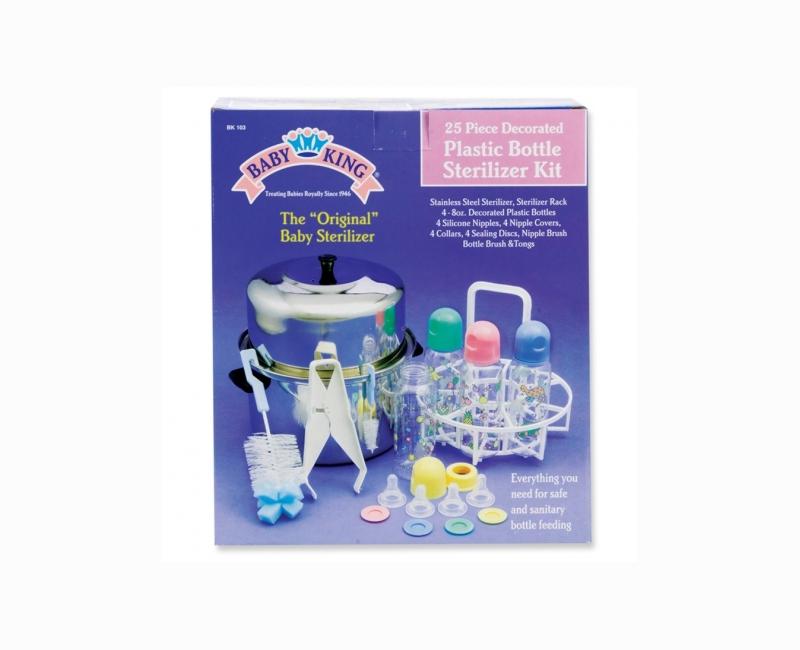 Plastic Bottle 25 Piece Sterilizer Kit