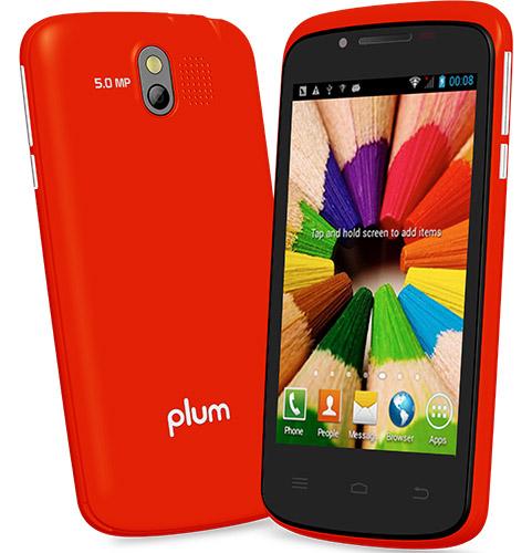 Plum Axe Plus Cellphone (Red)