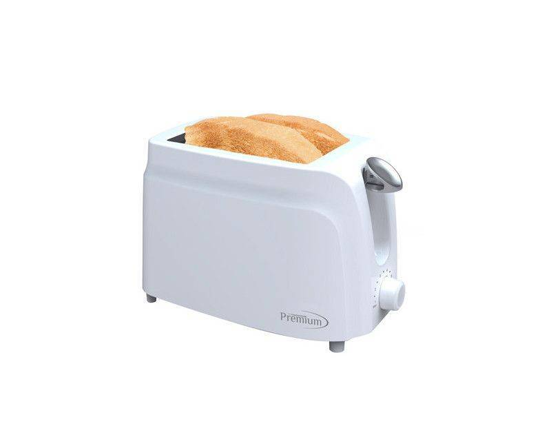 Premium 2 slice toaster with cool touch auto shut off