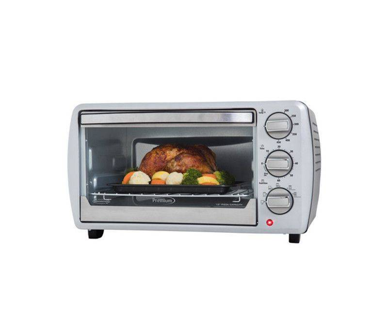 Premium Ambienti Model No. PTO220C Convection toaster oven - Save the amount of energy used.