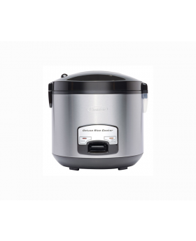 Premium Ambienti Stainless Steel Detachable Lid Rice Cooker