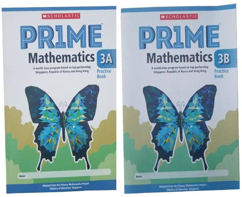 Scholastic Prime Math Practicebook 3A & 3B