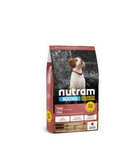 S2 Nutram Sound Balanced Wellness 13.6kg Natural Puppy Food
