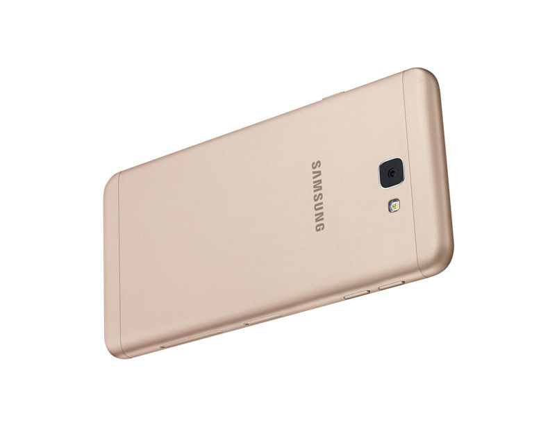 Rear view of the Samsung Galaxy J7 Prime Cellphone