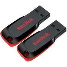 SanDisk USB Flash Drive 16GB CruzerBlade Z50