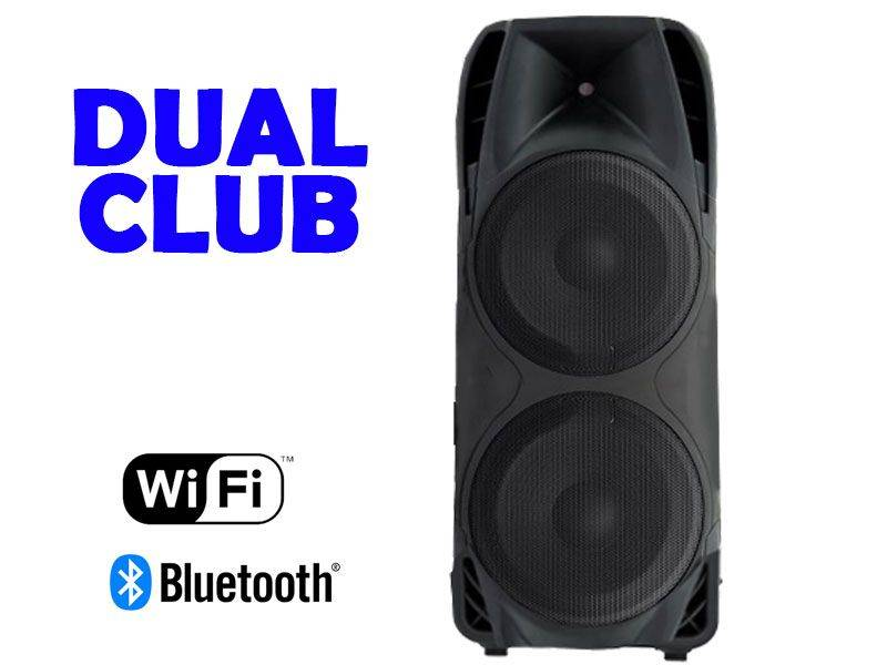 Sound Blast Powered Double 15 inches Club 2575 Watts