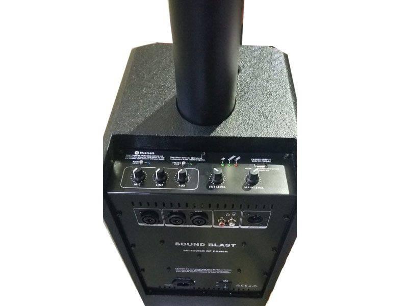 Sound Blast Tower of Power 3200 Watts