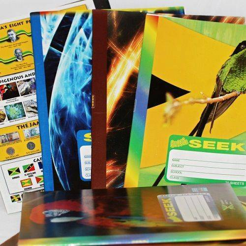Seek Exercise Book Double Spaced