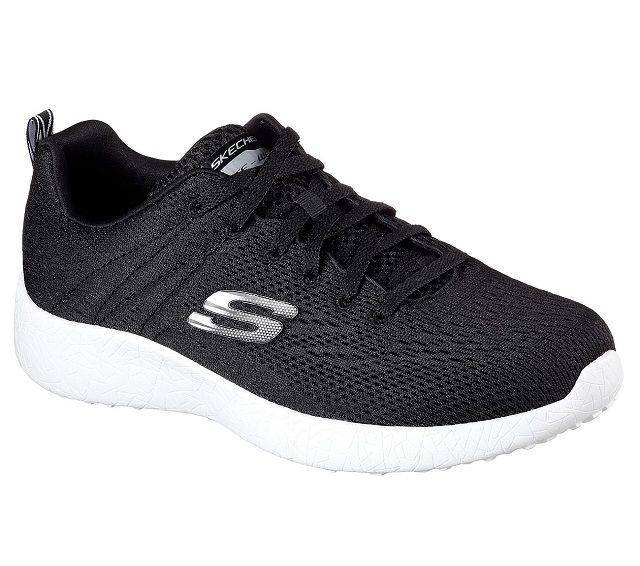 Skechers Men's Black and White Energy Burst Training Shoes