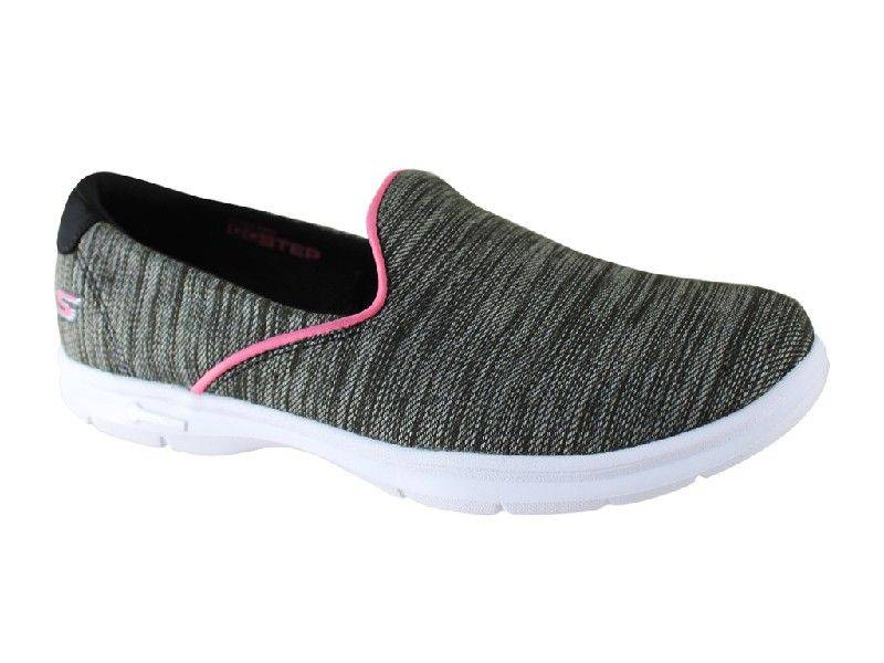 Skechers Limitless for Women in Black and Pink 14225-9