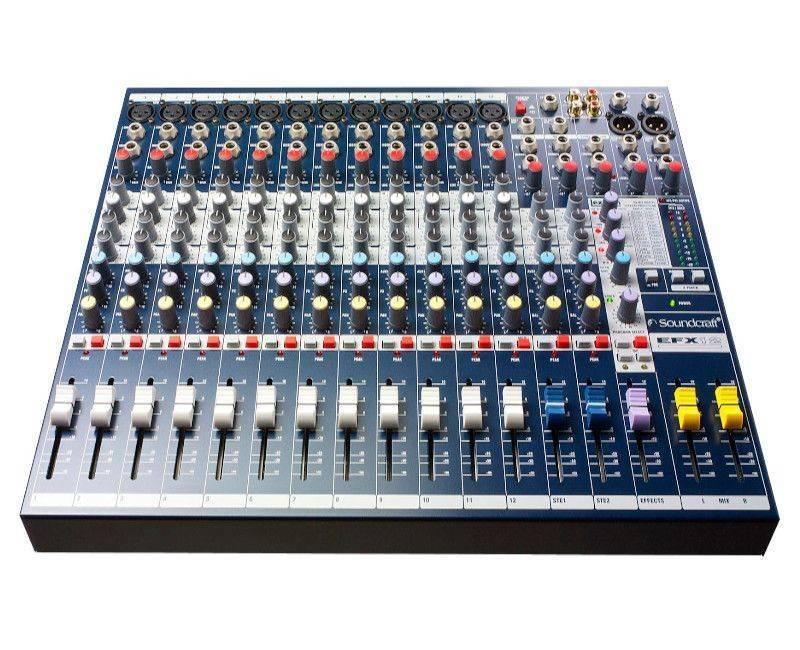 SOUND BLAST MIXER BEHRINGER FACTORY EFX12