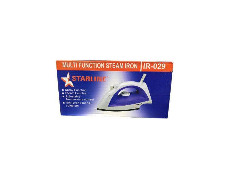 Starline IR-029 Multi-Function Steam Iron With Spray Steam Function