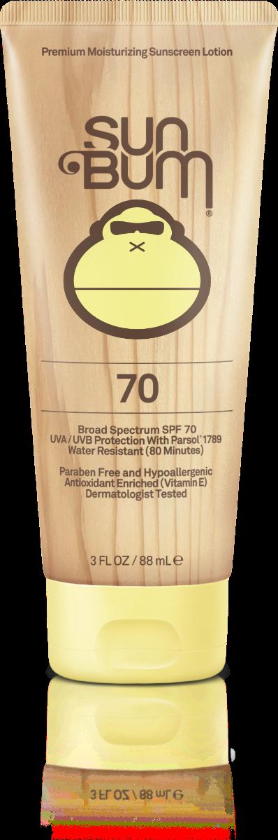 Sun Bum SPF 70 Moisturizing Sunscreen Lotion 3 FL. OZ.