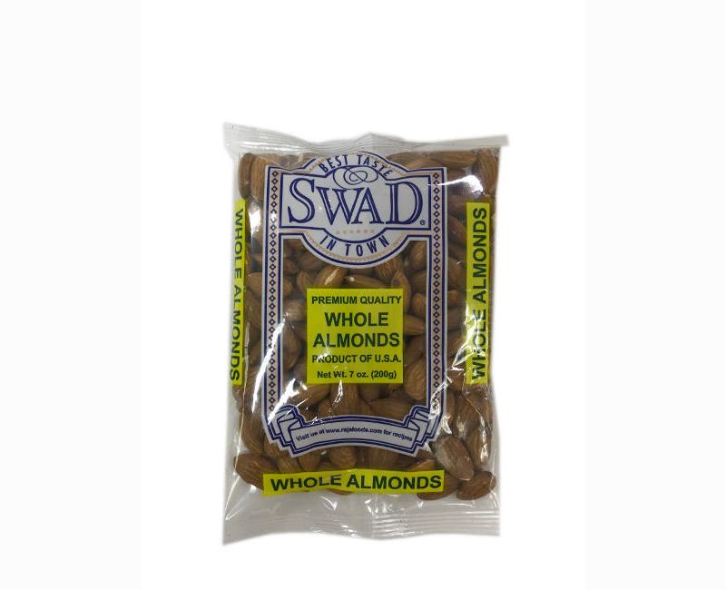 Swad Premium Quality Whole Almonds 200g
