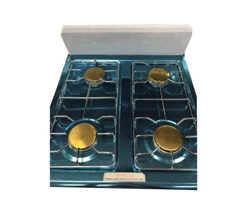 Roshan 4 Burner Table Top Gas Stove Cooktop