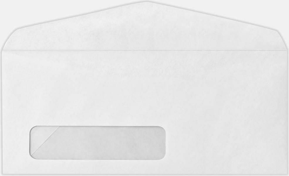#8 Window White Envelope