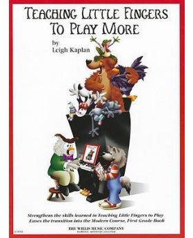 Teaching Little Fingers to Play More by Leigh Kaplan