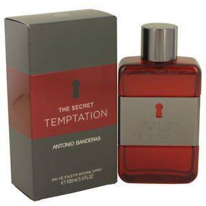 The Secret Temptation by Antonio Banderas 3.4 Fl. OZ. Men's Perfume