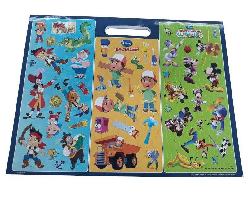 Disney Junior This Way Crew Artist Pad-Stickers
