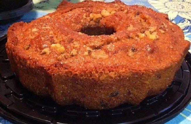 Carrot Rum Crepe Cake