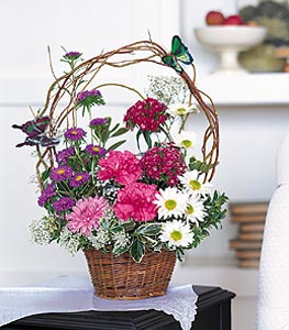 Touch of Butterflies Floral Arrangement