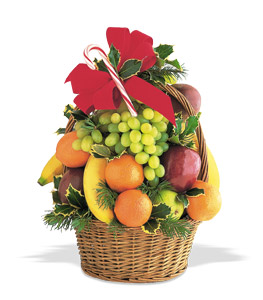Tower of Fruit Gift Basket