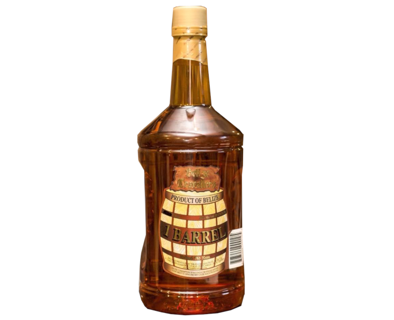 Travellers Belize 1 Barrel Aged Rum 750ml 40%