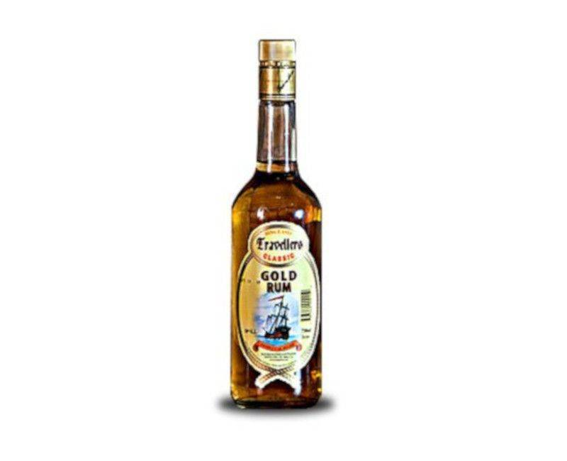 Travellers Classic Belize Gold Rum 1 Litre 38%