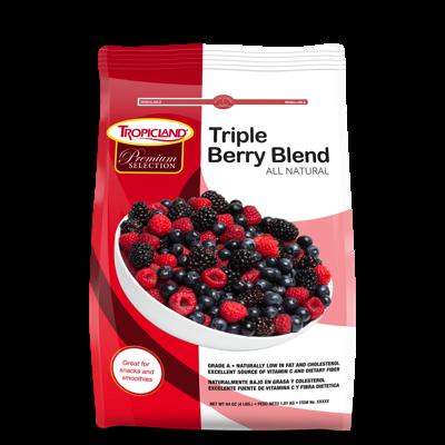 Tropicland Triple Berry Blend, 4lbs