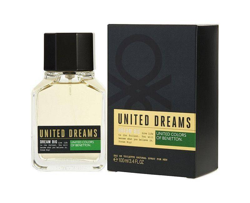 United Dreams Dream Big 3.4 Fl. OZ. Men's Perfume