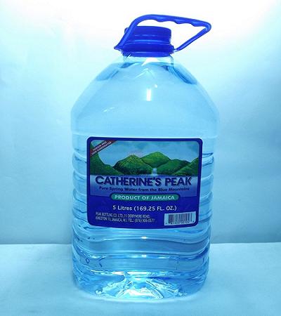 Catherine's Peak Water 5 Liters