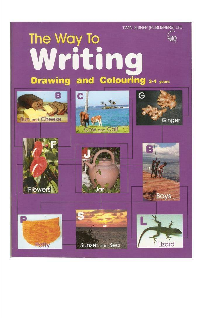 The Way to Writing (Drawing & Colouring 3-4 yrs