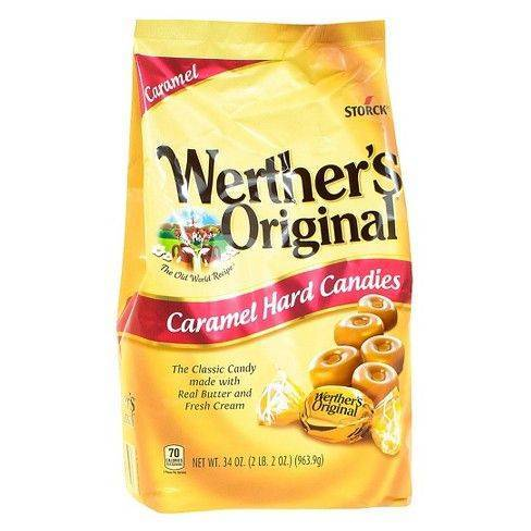 Werther's Original Hard Candies Caramel, 34 Oz