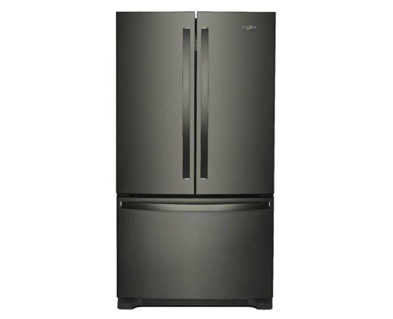 Whirlpool 25 cu.ft 36 Inches Wide Stainless Steel French Doors Refrigerator