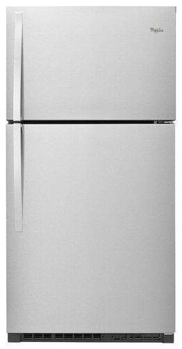 Whirlpool Refrigerator 21 Cubic Top Bottom