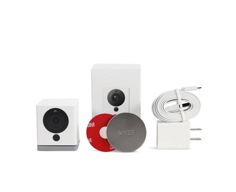 Wyze Cam v2 Security Camera Box Contents