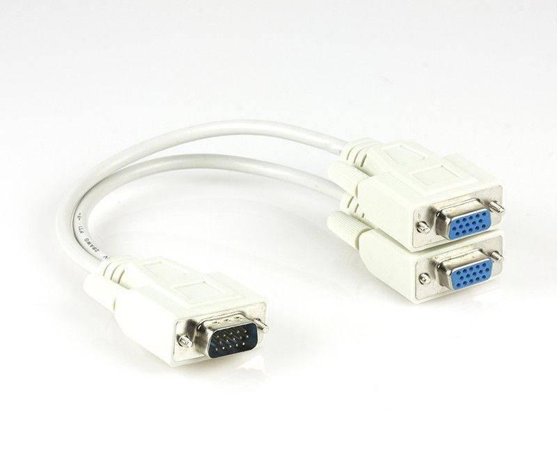 Xtech XTC-325  VGA Male Spliter Cable