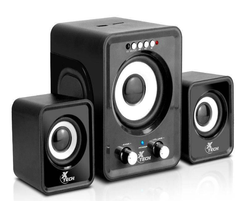 Xtech XTS375BK 2.1 Channel Speakers