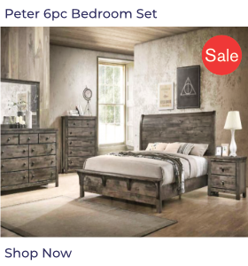 Peter 6pc Bedroom Set